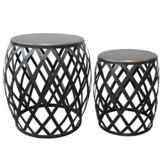 Lamai Set 2 Drum Tables | Ocassional Tables | Tables | Tables | Home