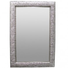 Marrakesh Rectangular Silver Mirror | Mirrors