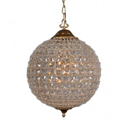 Antique Gold Orb Chandelier 45 cm | Chandeliers