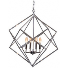 Diamond Chandelier Nickel  | Pendants