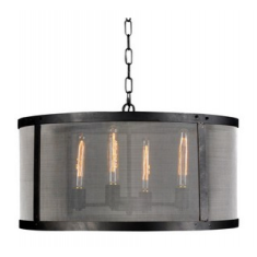 Riveted Mesh Pendant | Pendants