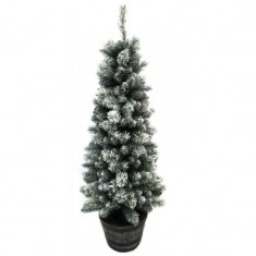 Pine Tree 5 Foot With Snow | Christmas