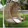 Hanging Pod Chair Natural Check