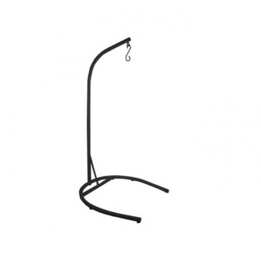 Hanging Pod Stand Black   Seating   Outdoor Furniture   Outdoor Furniture