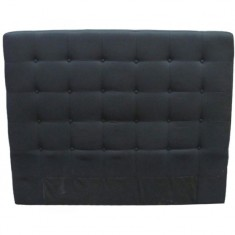 Charley Bed Head King/SK Black | Beds & Bedheads
