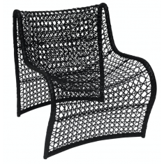 Wave Chair Black | Seating | Outdoor Furniture | Outdoor Furniture
