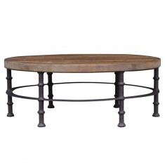 Berkshire Round Coffee Table | Coffee Tables | Tables