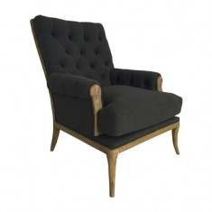 Frederick Arm Chair Charcoal | Seating | Occasional Chairs | Seating | Dining Tables