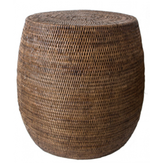 Coco Rattan Stool | Home Décor & Gifts | Tables | Bedroom | Bedside Tables