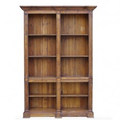 Double Open Pine Bookcase | Shelving, Storage & Cabinets | Storage, Shelving and Cabinets