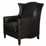 Victor Wing Chair Ebony