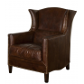 Victor Wing Chair Vintage Cigar