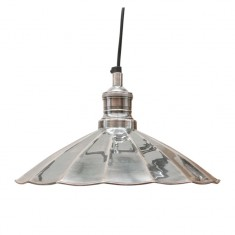 Fluted Nickel Pendant | Pendants
