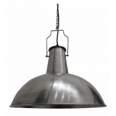Boiler Room Flask Lamp Silver | Pendants | Lighting