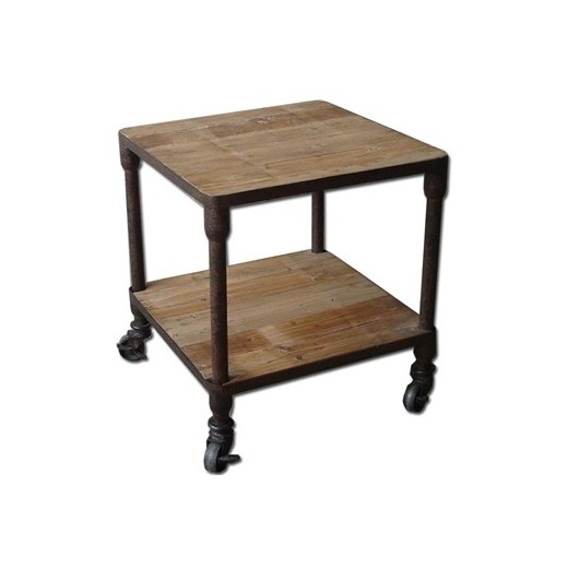 Gustav Industrial Side Table | Bedroom | Bedside Tables | Ocassional Tables | Tables | Bedroom | Bedroom | Tables