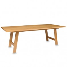 Hut Table American Oak 2400 | Dining Tables | Tables | Tables