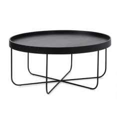 Segment Coffee Table Black  | Coffee Tables | Tables | Tables