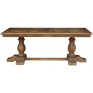 Parquet Top Pine Dining Table