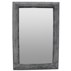 Marrakesh Rectangular Aged  Black Mirror  | Mirrors