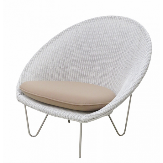Vincent Sheppard Cocoon Chair White  | Outdoor Furniture | Seating | Seating