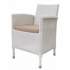 Vincent Sheppard Deauville Dining Chair White | Outdoor Furniture | Seating | Seating