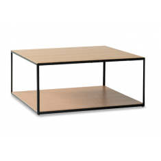 Linear Two Tier Coffee Table Oak  | Coffee Tables | Tables | Tables | NEW ARRIVALS