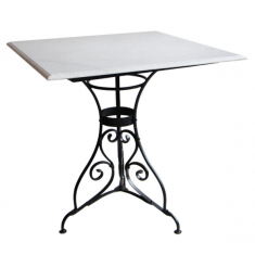 Parisian Marble & Iron Breakfast Table | Dining Tables | Tables | Tables | NEW ARRIVALS