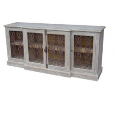 Iron Filigree Sideboard  Large | Sideboards & Consoles | Sideboards and Consoles