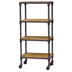 Gustav 4 Tier Shelves | Shelving, Storage & Cabinets | Storage, Shelving and Cabinets | Storage, Shelving and Cabinets