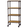 Gustav 4 Tier Shelves