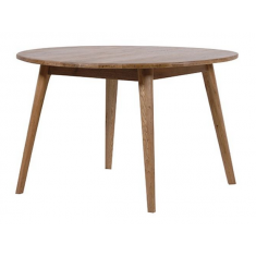 Vaasa Round Oak Table 1200  | Dining Tables | Tables | Tables | Tables | Tables | Tables