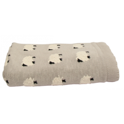 Counting Sheep Throw  | Cushions & Throws