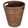 Coco Rattan Waste Paper Basket