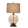 Angelo  Antique brass and glass lamps