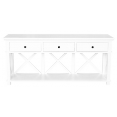 Sorrento 3 Drawer Console White  | Sideboards & Consoles | Sideboards and Consoles | Sideboards and Consoles | Sideboards and Consoles | NEW ARRIVALS