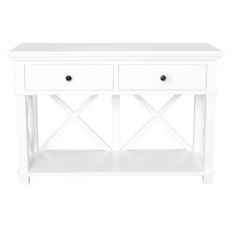 Sorrento Two Drawer Console White | Sideboards & Consoles | Sideboards and Consoles | Sideboards and Consoles