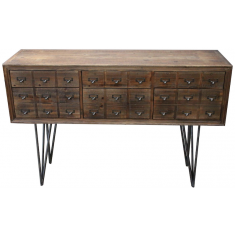 Apothecary Six Drawer Console  | Sideboards & Consoles | Sideboards and Consoles | Sideboards and Consoles