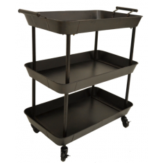 Industrial Three Tier Trolley  | Sideboards & Consoles | Ocassional Tables | Sideboards and Consoles | Tables