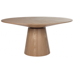 Classique Round Dining Table Natural Oak 1500 | Dining Tables | Tables | Tables