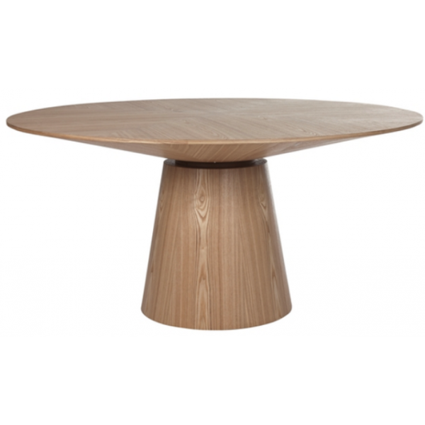 Classique Round Dining Table Natural Oak Dining Tables Tables Tables
