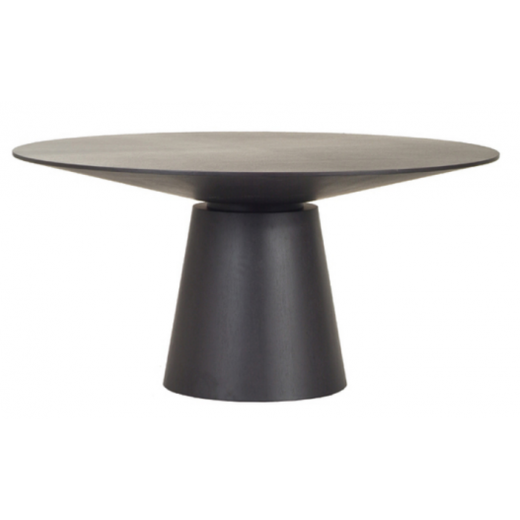 Classique Round Dining Table Dark Oak 1500  | Dining Tables | Tables | Tables