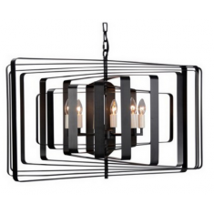 Bronte Pendant Black Brass | Pendants
