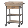 Butchers Block On Castors