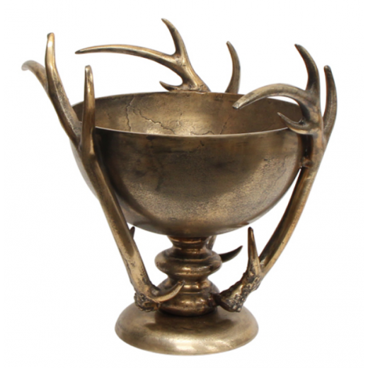 Antler Bowl Gold | Christmas | Home Décor & Gifts