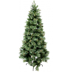 Pine Tree Xtra Large With Lights  | Christmas | Curtains
