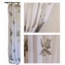 Fig Leaf Cotton Voile Curtains Set of 2