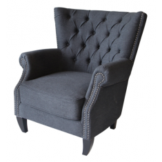 Emmaline Chair Charcoal  | Occasional Chairs | Seating | Seating | Seating