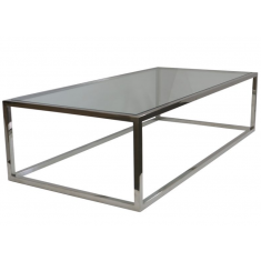 Bogart Rectangular Coffee Table Stainless  | Coffee Tables | Tables | Tables