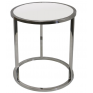 Bogart Round Stainless Side Table