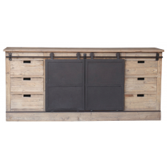 Barn Door Buffet | Sideboards & Consoles | Sideboards and Consoles | Sideboards and Consoles